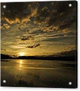 Queen Charlotte-haida Gwaii-sunset-1 Acrylic Print by Evan Spellman