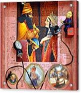 Queen Esther Acrylic Print by Nekoda  Singer