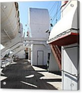 Queen Mary - 121213 Acrylic Print by DC Photographer