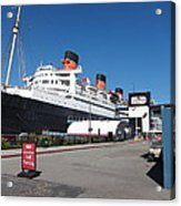 Queen Mary - 12123 Acrylic Print by DC Photographer