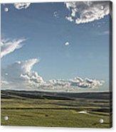 Quiet Prairie Acrylic Print by Jon Glaser