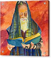 Rabbi I Acrylic Print by Dawnstarstudios
