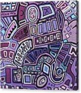 Radio Active Acrylic Print by Barbara St Jean