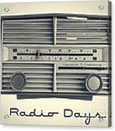 Radio Days Acrylic Print by Edward Fielding