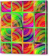 Rainbow Bliss 3 - Over The Rainbow V Acrylic Print by Andee Design