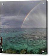 Rainbow Light Acrylic Print by Stelios Kleanthous