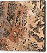 Ram Desert Transjordanian Plateau Jordan Acrylic Print by Anonymous