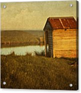 Ramshackle Acrylic Print by Amy Weiss