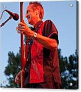 Randy Reis On Bass - The Fabulous Kingpins Acrylic Print by David Patterson