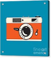 Rangefinder Film Camera Acrylic Print by Igor Kislev