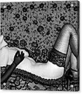 Ravishing Romance - Self Portrait Acrylic Print by Jaeda DeWalt