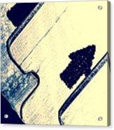 Razor Blades Acrylic Print by Bob Orsillo