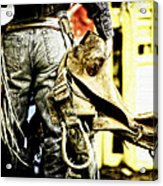 Ready To Ride Acrylic Print by Lincoln Rogers