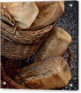 Real Bread Acrylic Print by Odd Jeppesen