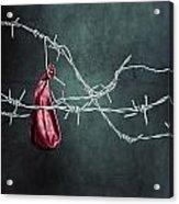 Red Balloon Acrylic Print by Joana Kruse