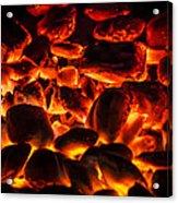 Red Hot 2 Acrylic Print by Bradley Clay