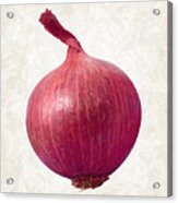 Red Onion  Acrylic Print by Danny Smythe