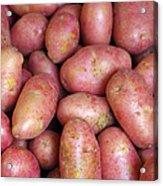 Red Potatoes Acrylic Print by Carlos Caetano