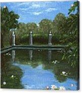 Reflecting Pool Acrylic Print by Anastasiya Malakhova