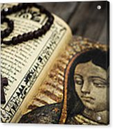 Religious Concept Acrylic Print by Aged Pixel