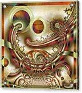 Rem Sleep Acrylic Print by Wendy J St Christopher