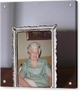 Remembering Grandma Acrylic Print by Guy Ricketts
