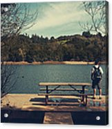 Remembering When Acrylic Print by Laurie Search