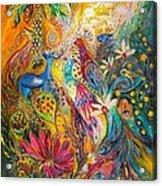 Remembering Yotvata Acrylic Print by Elena Kotliarker