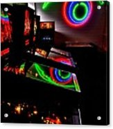 Replicant Arcade Acrylic Print by Benjamin Yeager
