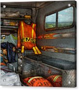 Rescue - Emergency Squad  Acrylic Print by Mike Savad