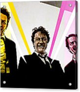Reservoir Dogs Acrylic Print by Jeremy Scott