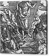 Resurrection Acrylic Print by Albrecht Duerer