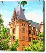 Revival Biltmore Asheville Nc Acrylic Print by William Dey