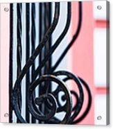 Rhythm Of Architecture - Vertical Format Acrylic Print by Alexander Senin
