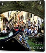 Rhythm Of Venice Acrylic Print by Jennie Breeze