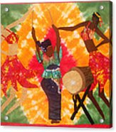 Rhythms Acrylic Print by Aisha Lumumba