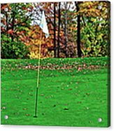 Ridgewood Golf And Country Club Acrylic Print by Frozen in Time Fine Art Photography