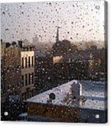 Ridgewood Wet With Rain Acrylic Print by Mieczyslaw Rudek Mietko
