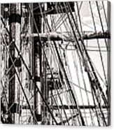 Rigging Acrylic Print by Olivier Le Queinec