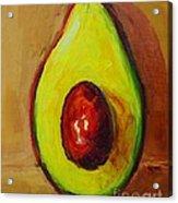 Ripe Avocado Acrylic Print by Patricia Awapara