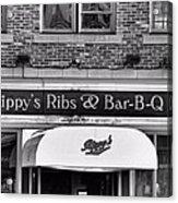 Rippy's Ribs And Bar Bq Acrylic Print by Dan Sproul