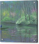 Rite Of Spring Acrylic Print by Garry McMichael
