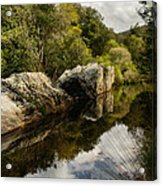River Reflections II Acrylic Print by Marco Oliveira