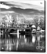 River View In New Hope Acrylic Print by John Rizzuto