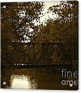 Riveting Bridge Acrylic Print by Customikes Fun Photography and Film Aka K Mikael Wallin