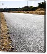 Road Edge Acrylic Print by Tim Hester
