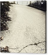 Road Less Traveled Acrylic Print by Margie Hurwich