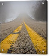 Road To Nowhere Acrylic Print by Bill Pevlor
