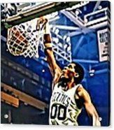 Robert Parish  Acrylic Print by Florian Rodarte