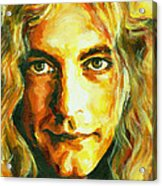 Robert Plant. The Enchanter Acrylic Print by Tanya Filichkin